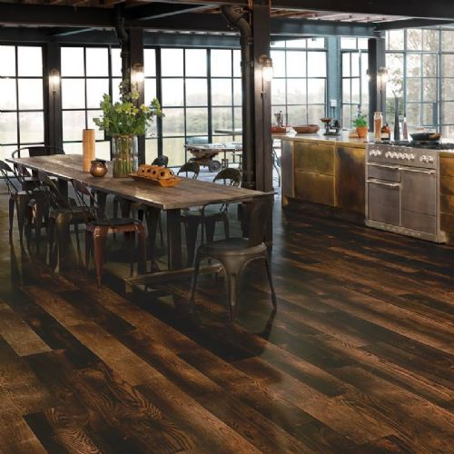 Karndean Van Gogh Wood Flooring Charred Oak